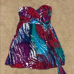 CUTE Summer Strapless Dress